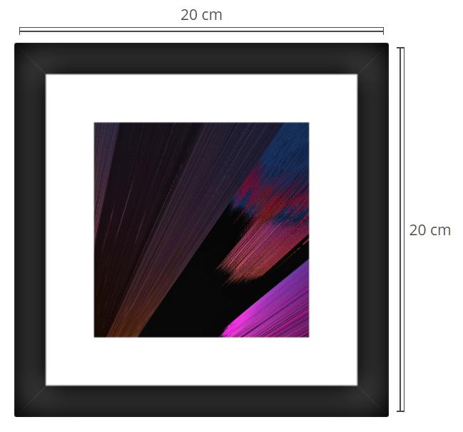 Antares 2 - Product: Framed PhotoPhoto Format: 40x30 cmDecor Frame: Black Matte