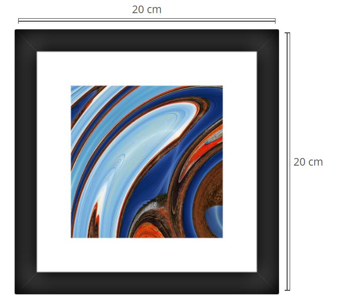 Rua 2 - Product: Framed PhotoPhoto Format: 20x20 cmDecor Frame: Black Matte