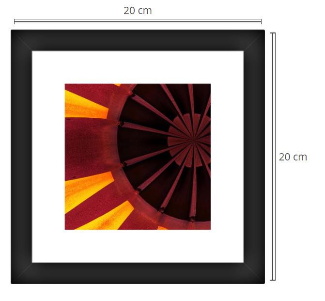 Porte 2 - Product: Framed PhotoPhoto Format: 20x20 cmDecor Frame: Black Matte