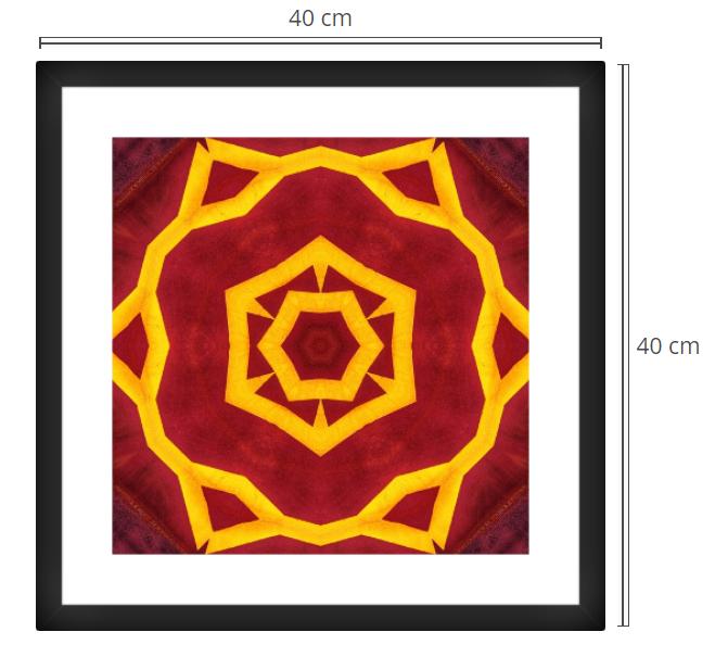 Porta - Product: Framed PhotoPhoto Format: 40x40 cmDecor Frame: Black Matte