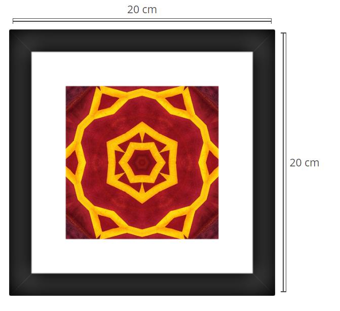 Porta 2 - Product: Framed PhotoPhoto Format: 20x20 cmDecor Frame: Black Matte
