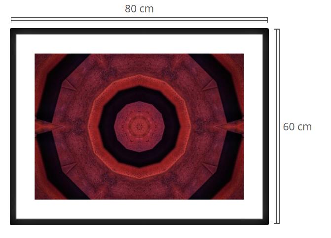 Gate 3 - Product: Framed PhotoPhoto Format: 80x60 cmDecor Frame: Black Matte