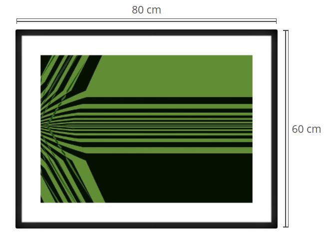 Proxima 3 - Product: Framed PhotoPhoto Format: 80x60 cmDecor Frame: Black Matte