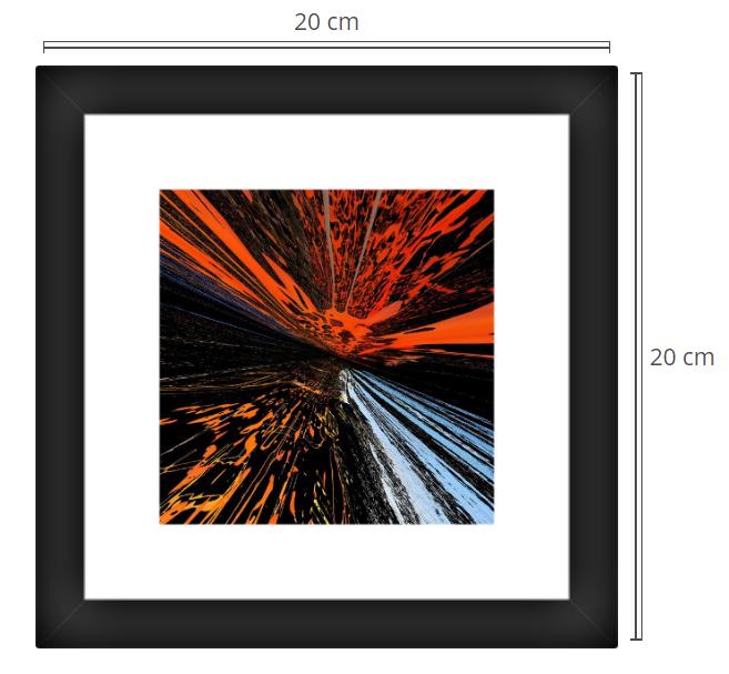 Alpha 2 - Product: Framed PhotoPhoto Format: 20x20 cmDecor Frame: Black Matte