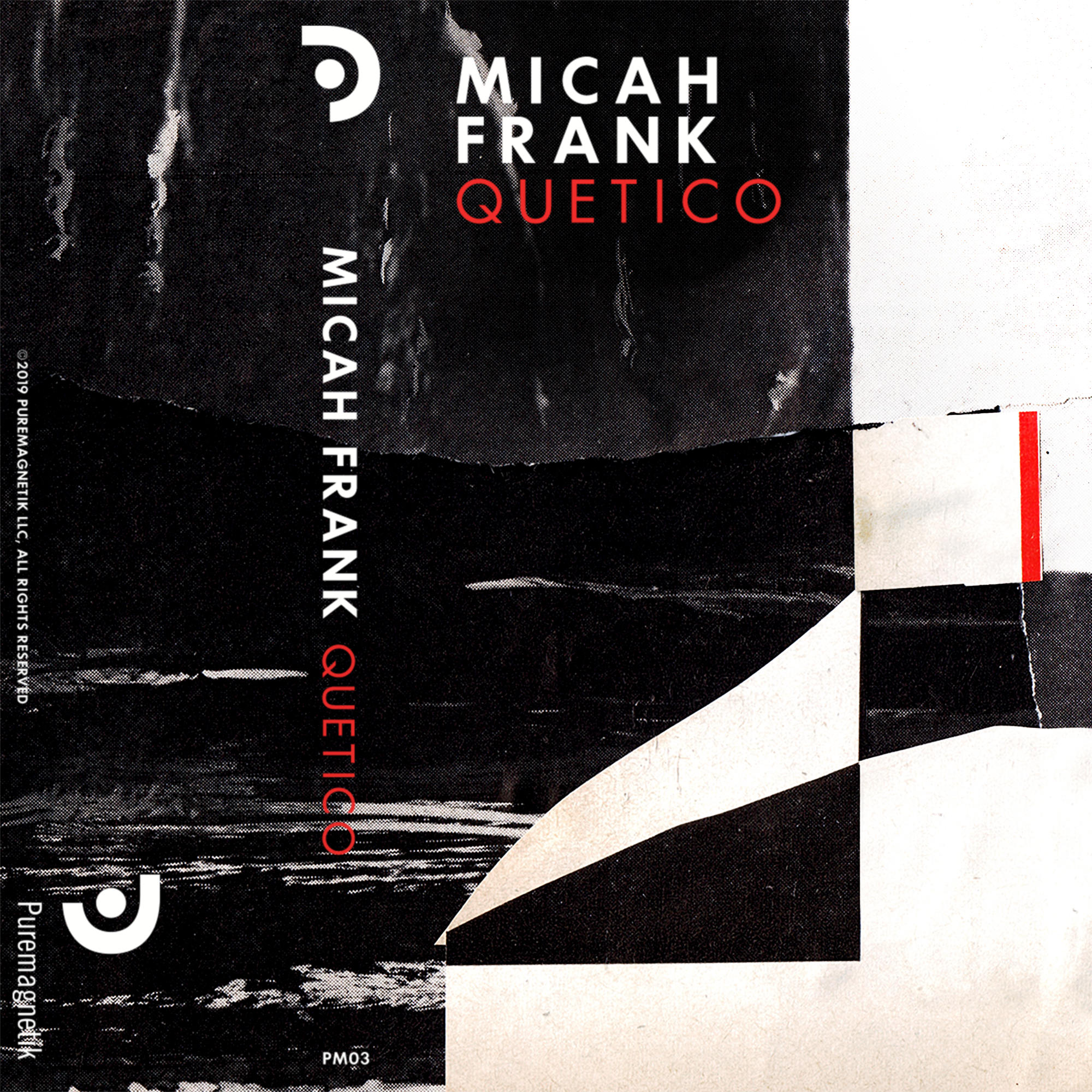 "Quetico, 2019  Puremagnetik Tapes, the recording arm of Puremagnetik is pleased to announce its fourth release: Quetico, from sound artist and composer Micah Frank.  Quetico is a flagship recording for the label and lies close to the roots of Puremagnetik. Frank himself considers the album to be collection of ""sound sculptures,"" sonic objects in part assembled and in part sculpted from the basics of waveforms, timbres, and the concrete sound-objects of field recordings.   Read More"