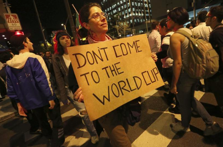 Occupy Maracana: Has the World Cup Ever Helped Its Host Country?