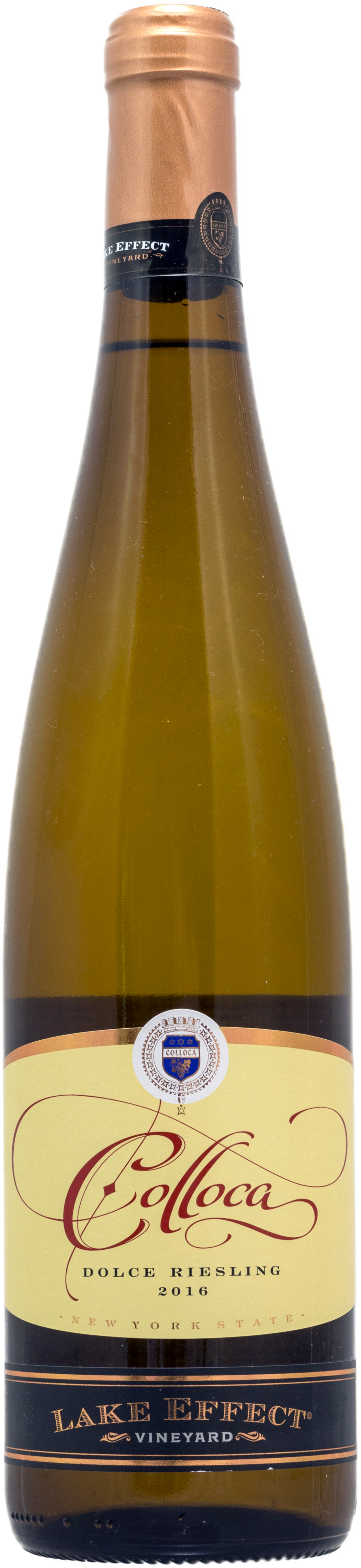 2016 Colloca Lake Effect Vineyard® Dolce Riesling -