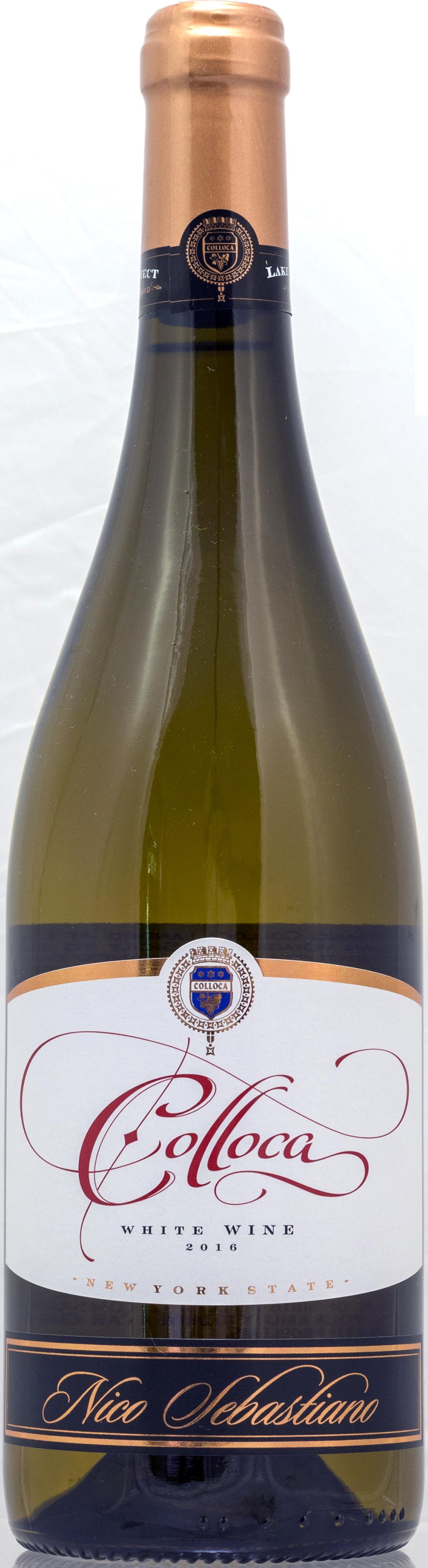 2016 Colloca Estate Lake Effect Vineyard® 'Nico Sebastiano' White WIne -