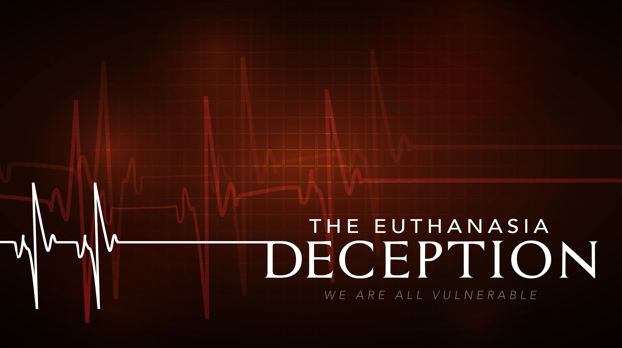 The Euthanasia Deception - Belgium's 15 year experiment with euthanasia has gone terribly wrong. This film is a dire warning for the rest of the world. The Euthanasia Deception is a one-hour documentary featuring powerful testimonies from Belgium and beyond - of those devastated by the false ideology of 'mercy killing'.