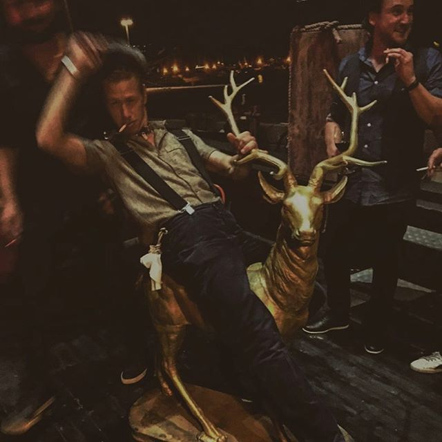 If you wanna ride. Ride the gold deer #projectsoromnoo
