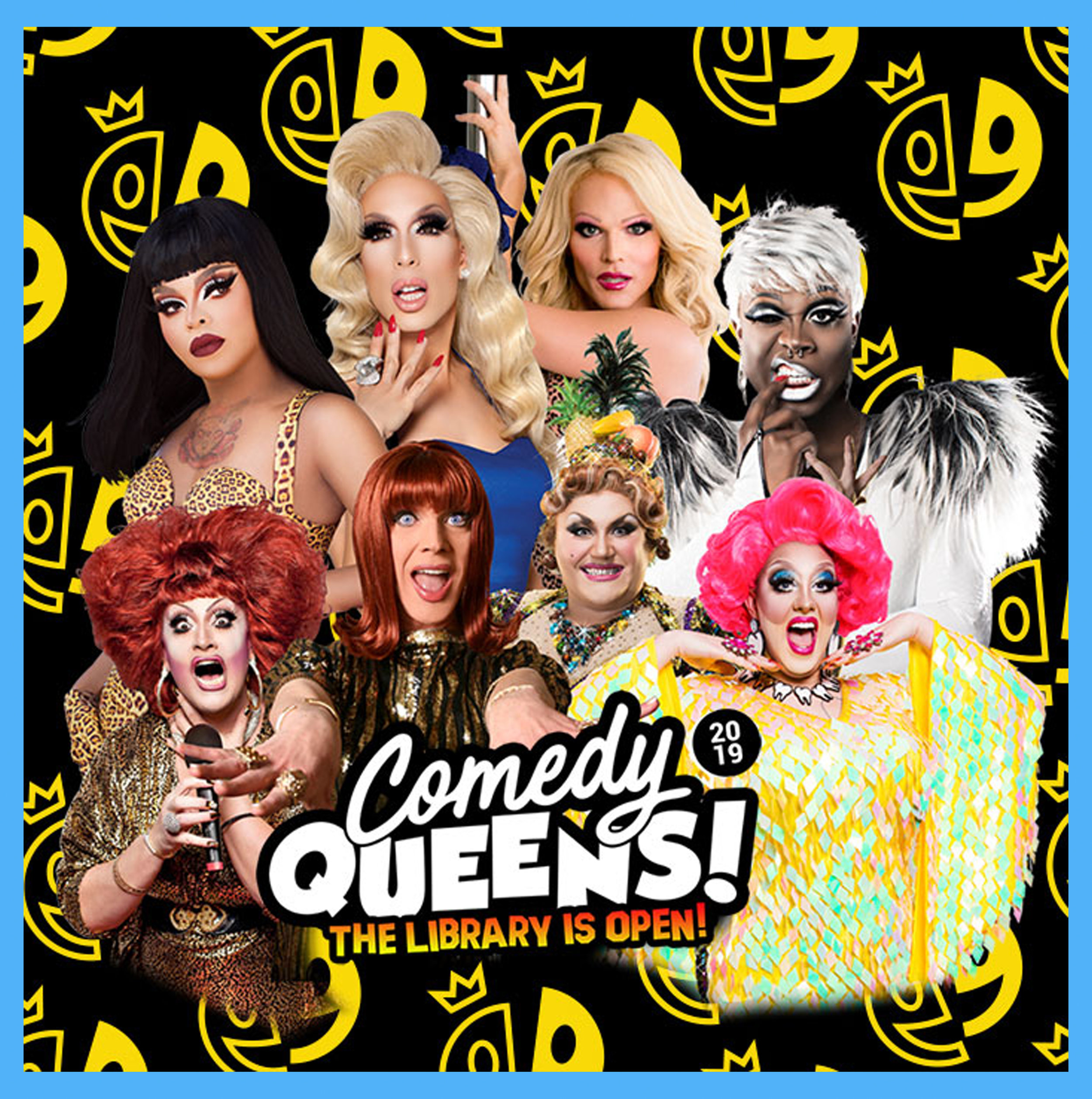 BRISBANE, AU - August 25th, 2019, 7:00PMYou loved laughing your face off this year, now get ready to do it all again in 2019! We'll be bringing you more laughs than you can handle with this international cast of comedy queens. We've got your favourites from Youtube, Drag Race and this year, we're adding some local talent in to the mix.