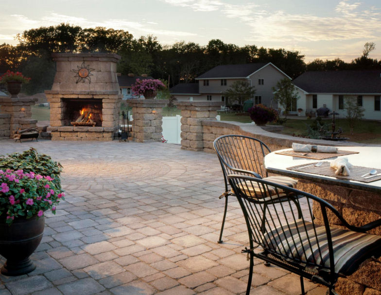 Hardscapes - Paver patios and sidewalksFire pits (wood and gas)Seating & retaining walls