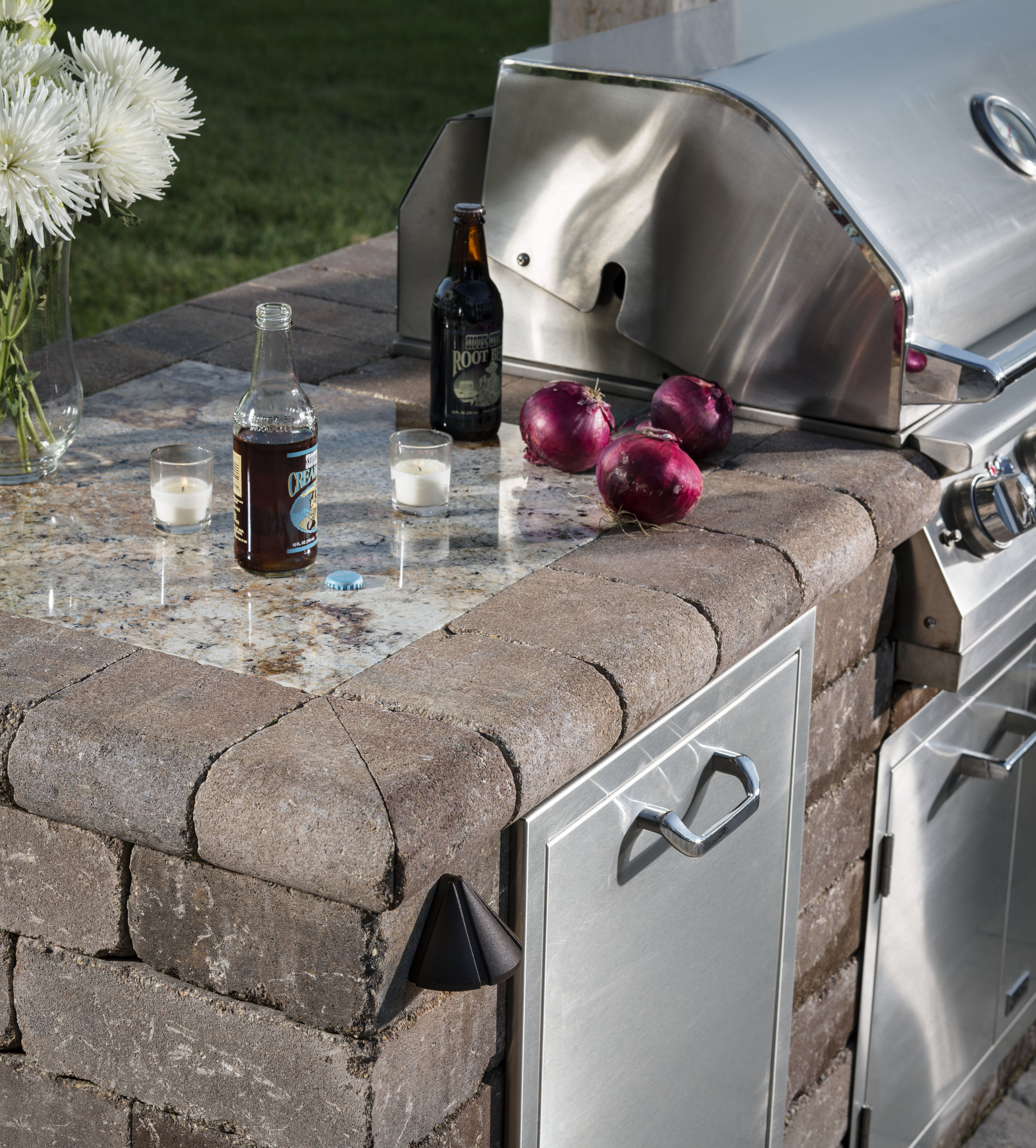 Vosters Landscaping | Grill | Brick  | Outdoor Living | Outdoor Kitchen