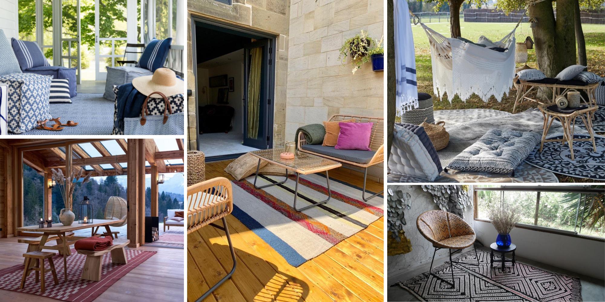 The Best Indoor Outdoor Rugs Uk 2020 Woven Rosa Interiors Homeware Sustainable Unique