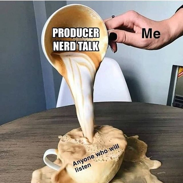 Since moving to Nashville I have met some crazy amazing producers/engineers and have slowly been building a great family! Cheers dudes! Thank you guys for everything! 💥🔥💯 #meme #producer #production #music #musiccity #musicproduction #nashville #nashvilletn #newhome