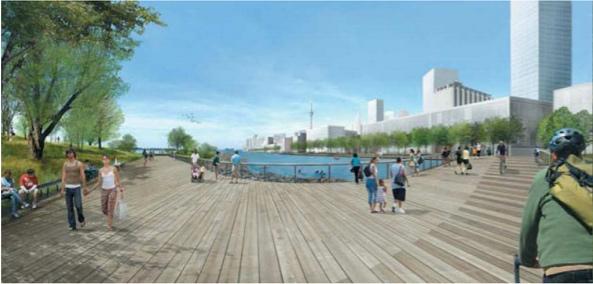Rendering: Boardwalk Promenade