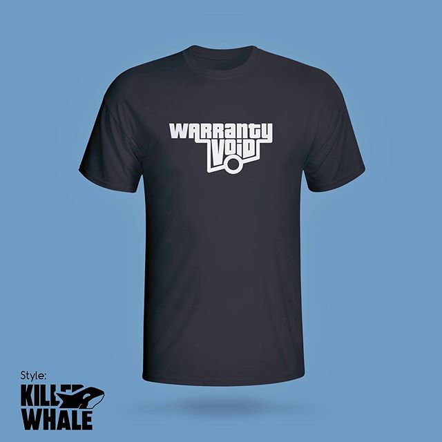 Almost sold out and I added two new styles! Once they're gone, they're retired for good! So don't miss out on the Warranty Void shirt!!! stokebutter.com