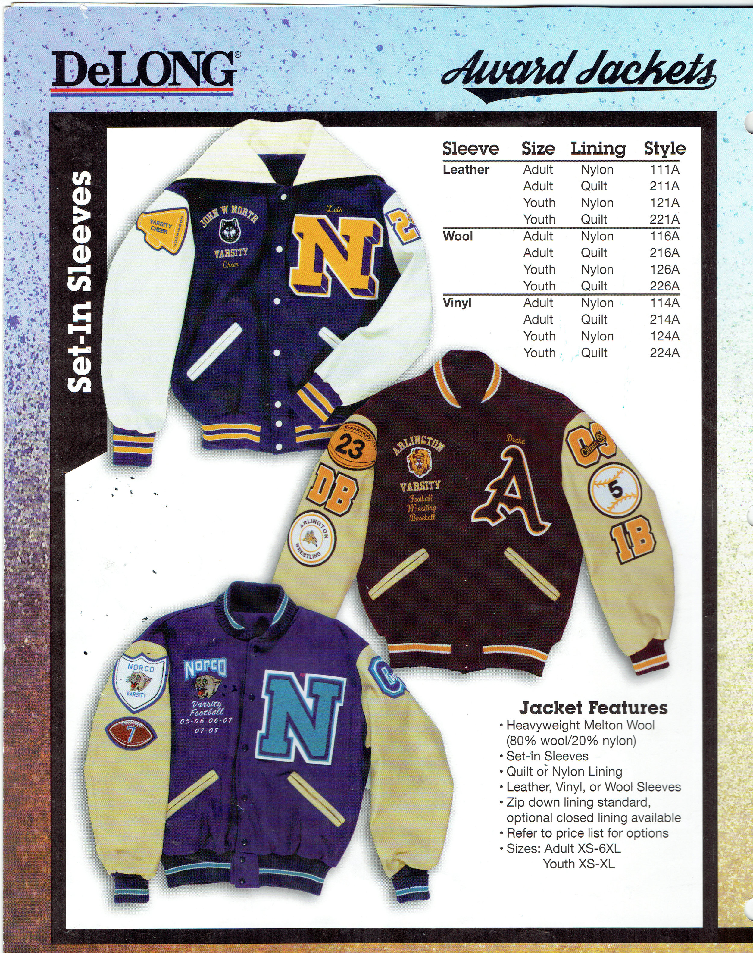 - Custom Award JacketsChenille Lettering & EmblemsPlease call for Quotes onTeam Discounts(504) 837 8420 Email: pennant 700@yahoo.com