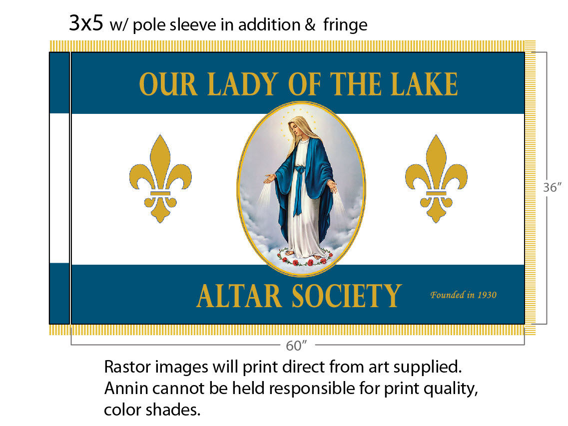 our lady of the lake flag 2019.jpg