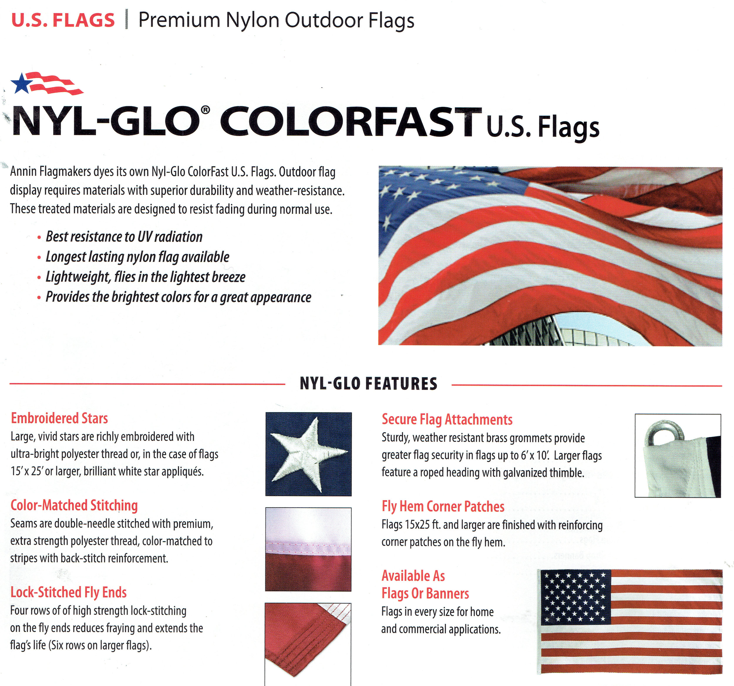Pennant Shop - 2908 Metairie Road, Metairie, LA 70001All size Nylon flags in stock.Phone: (504) 837-8420OFFICIAL ANNIN DISTRIBUTOR