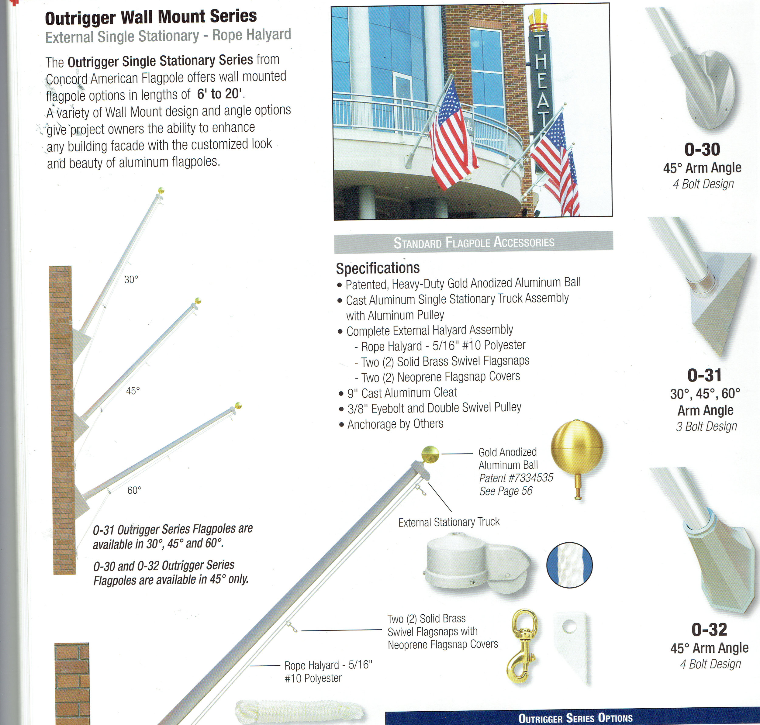 Pennant Shop - Commercial poles for hotels and businesses.Please call or write. (504) 837 8420Email: pennant700@yahoo.com