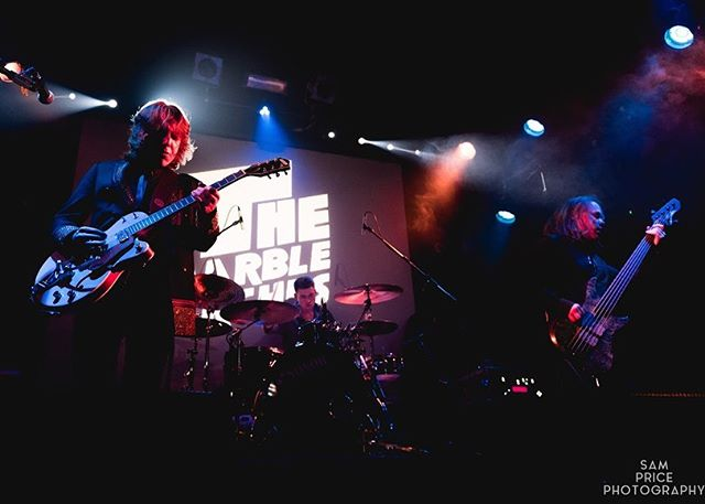 Throwing it back to our single launch last week, here's a collection of shots from the lense of @sampricephotography to remind you of what happened, we're still on a comedown from it all.. - #themarblearches #newsingle #360club #leedsgigs #gigs #bandphotos #leedsmusic #gretschguitars #alpherinstruments #sonor #guitarbands #introducing #emerging