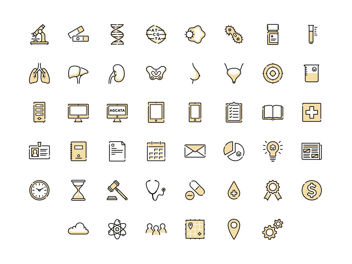Foundation Medicine Icons