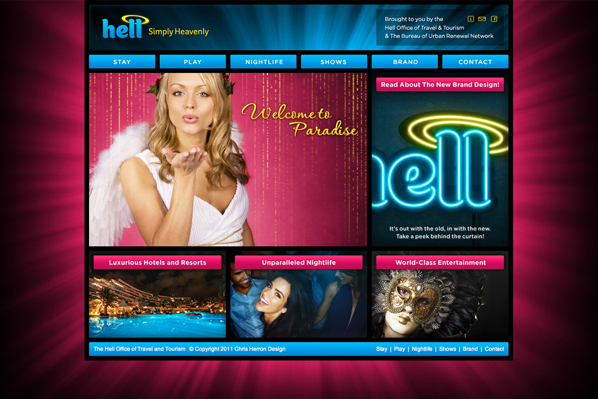 Hell Rebrand Website 1