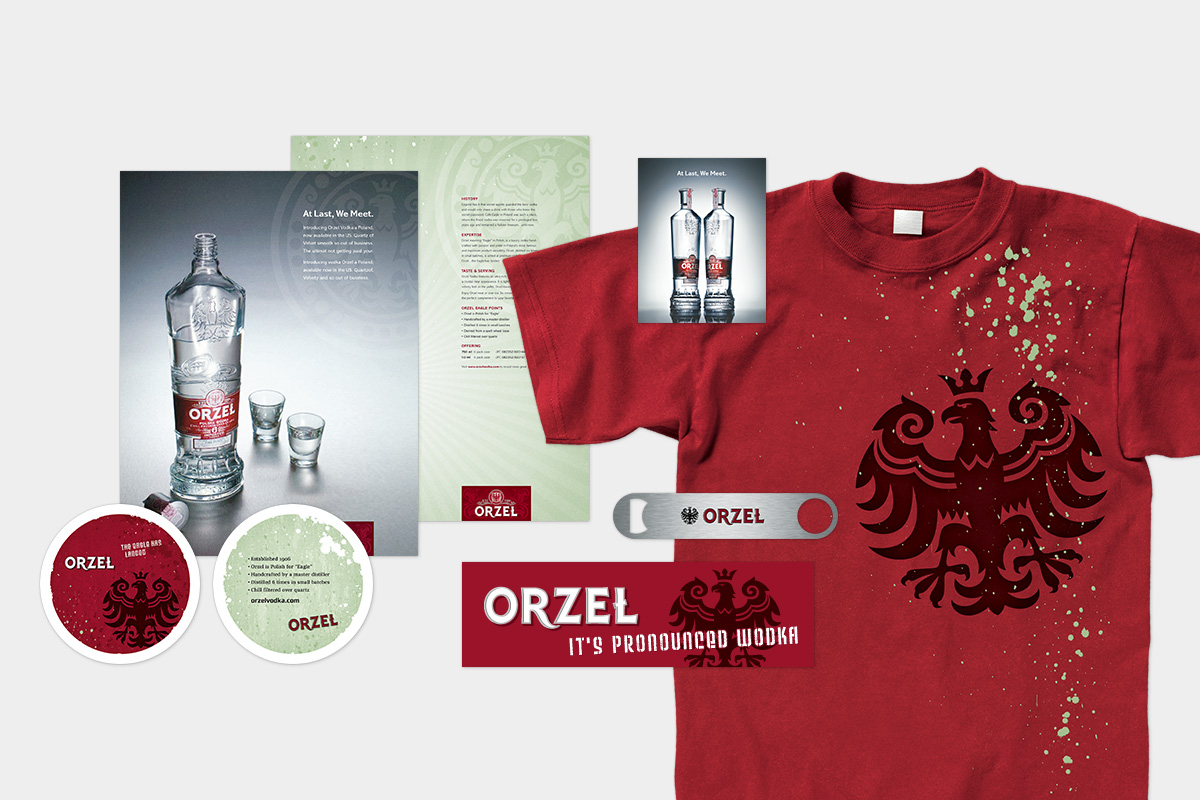 Orzel Vodka Promo Materials