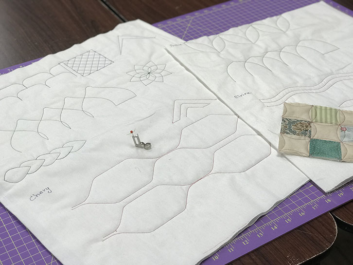 Creative Grids Rulers, Machine Quilting