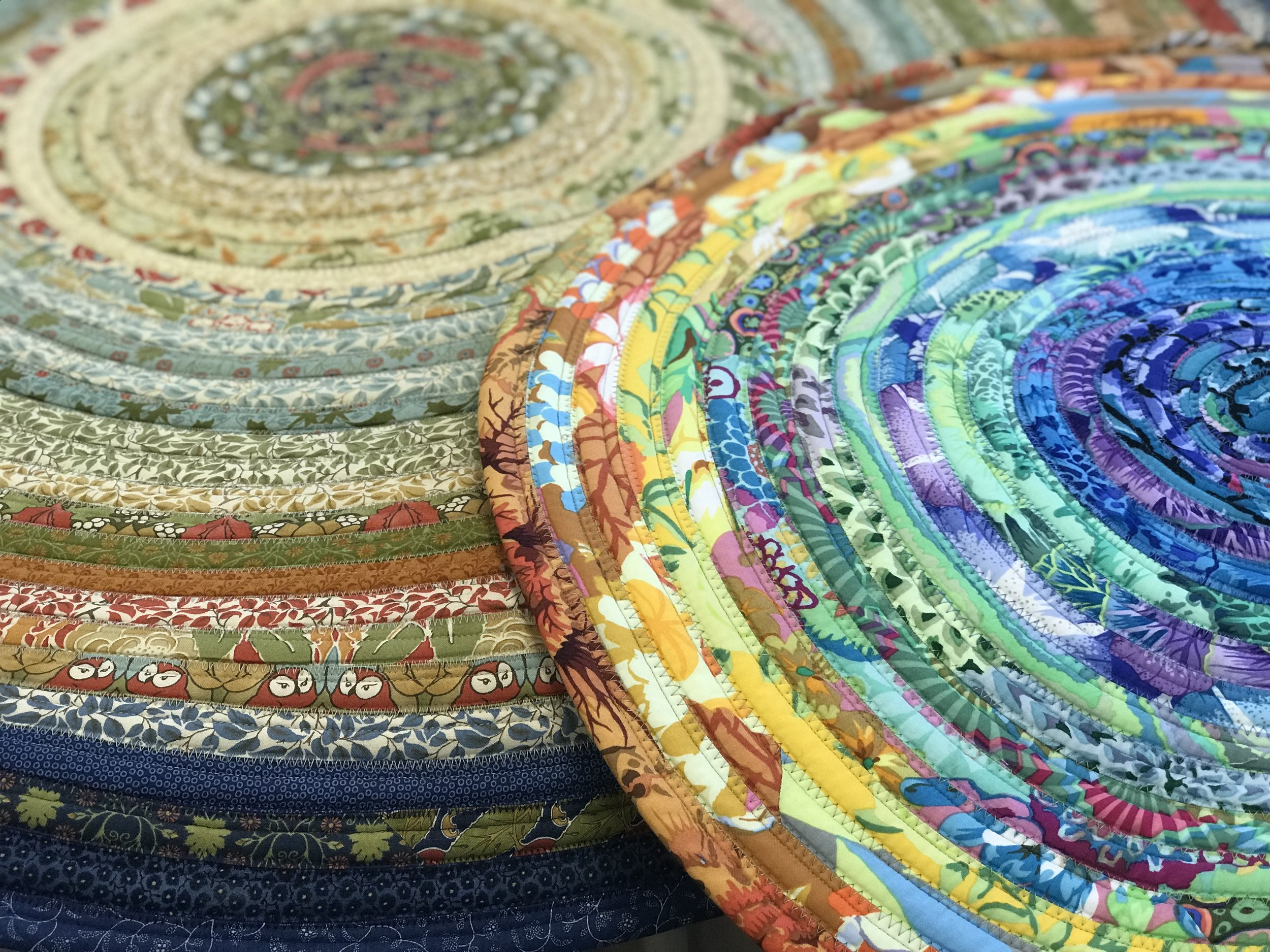 Round Jelly Roll Rug
