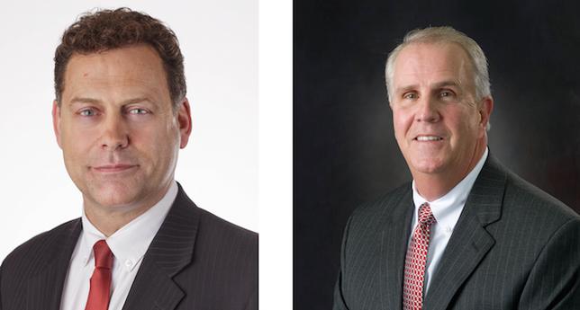 Mike Wilson, left, will get the Connie Award. Roy Schleicher will get the Lifetime Achievement Award.