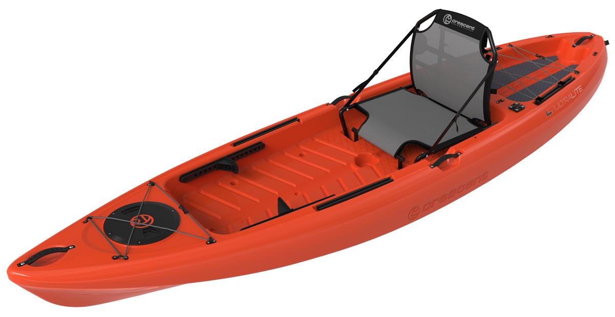 Crescent-Kayaks_Ultra-Lite-Tackle_Orange_3Q1 recreational kayak fishing kayak.jpg