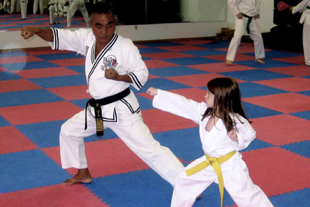 HMD Academy  will show you some basic Tae Kwon Do moves!
