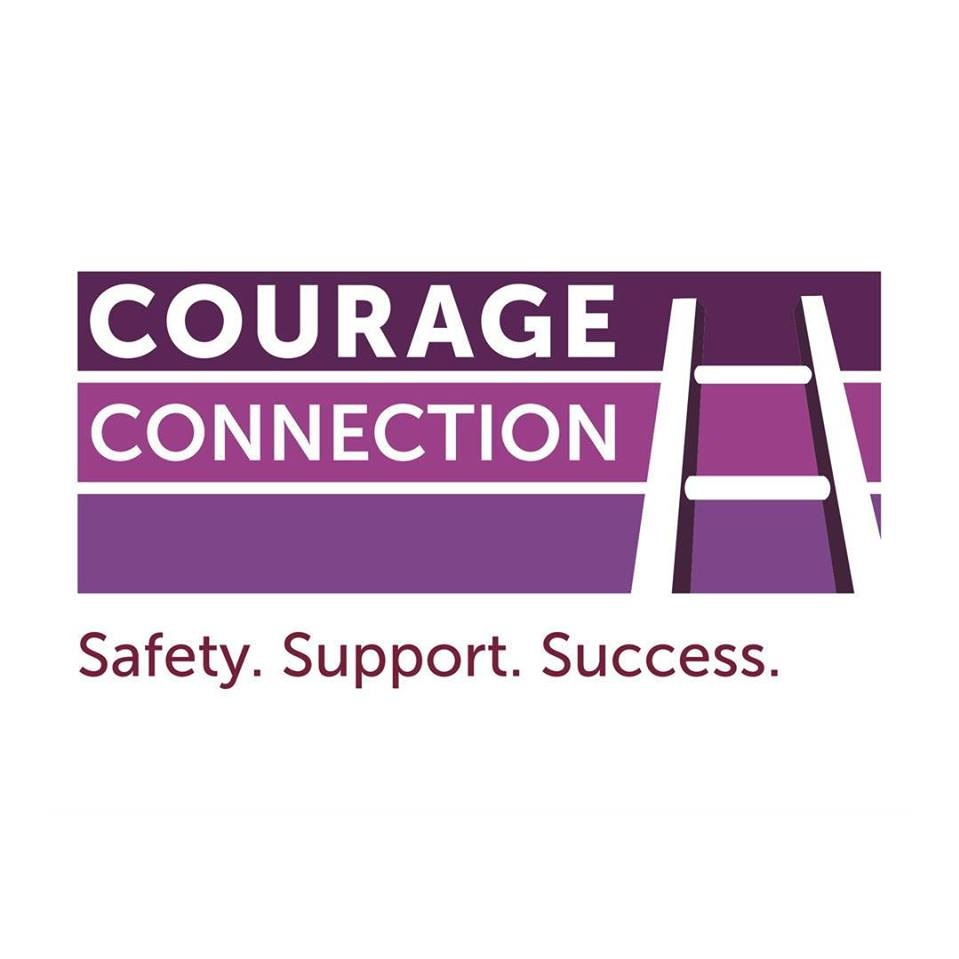 Courage Connection  Courage Connection Domestic Violence Services provides help to anyone experiencing domestic violence. Shelter and services are confidential and free-of-charge.Courage Connection provides a continuum of services so that individuals and families facing domestic violence can achieve safety, support and success.