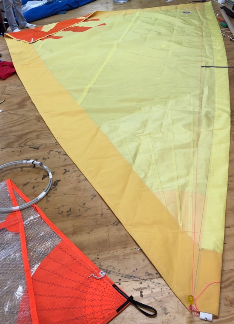 Holopuni Sail - with added sun protection panel on leech and foot