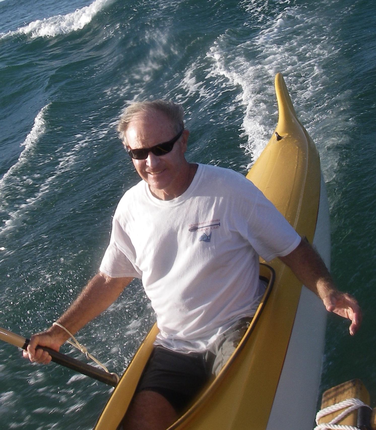Nick Beck sail surfing