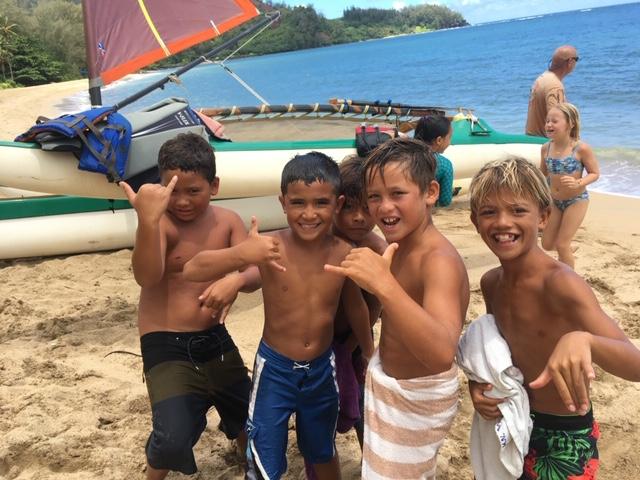 Hanalei Summer Fun Kids Sailing 2.JPG