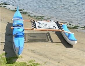 Paddling Canoe with optional Trampoline