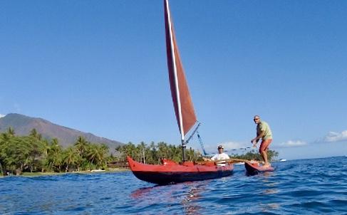 Paddling Canoe with optional Sailrig