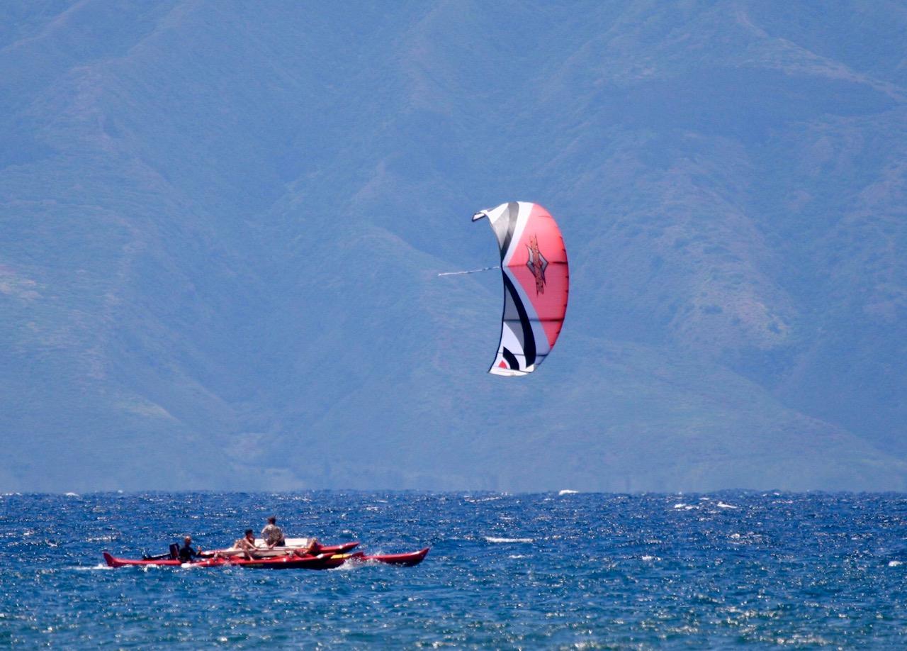 Holopuni Kite Sailing