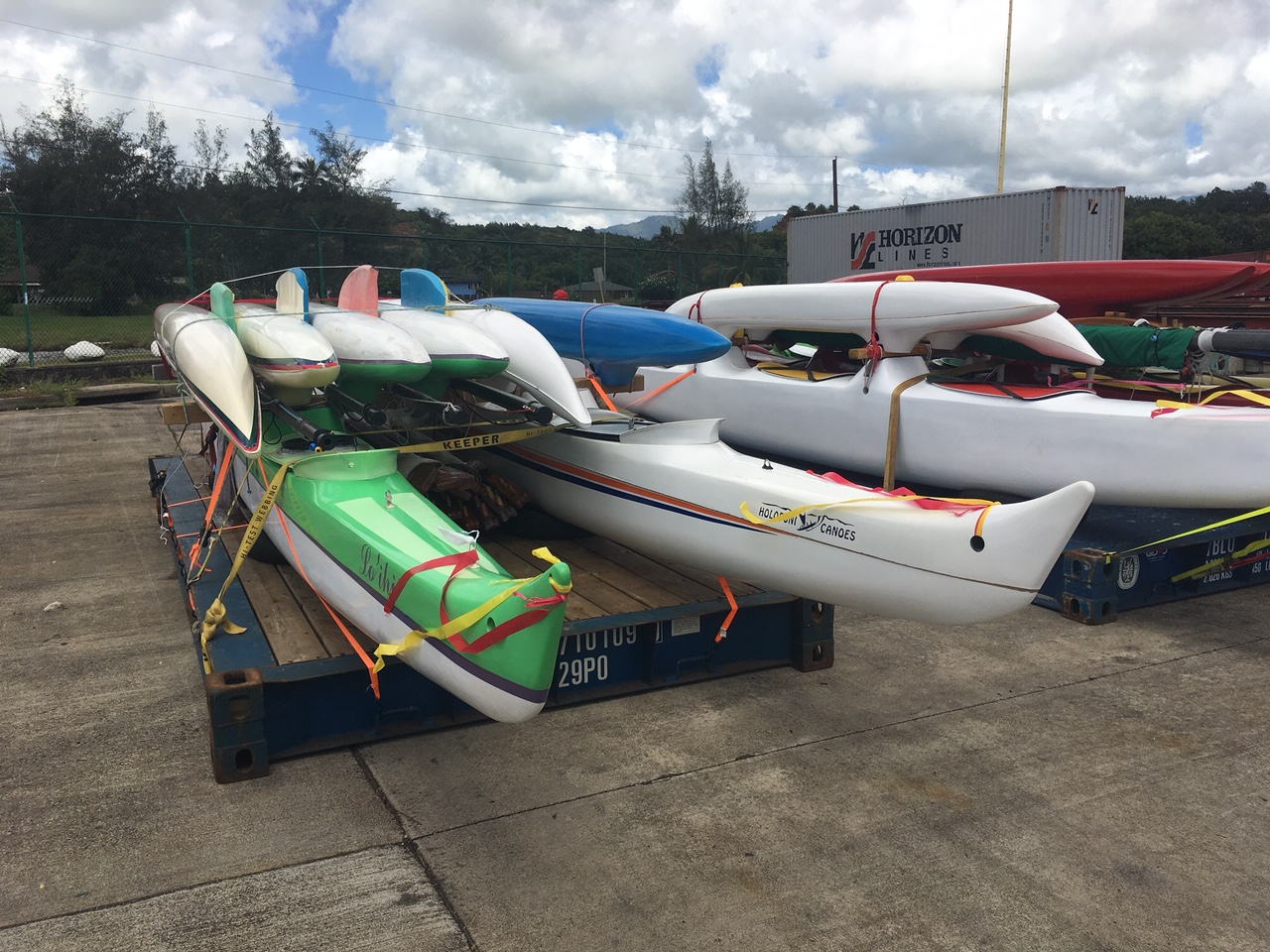 Shipping for race on Big Island.JPG