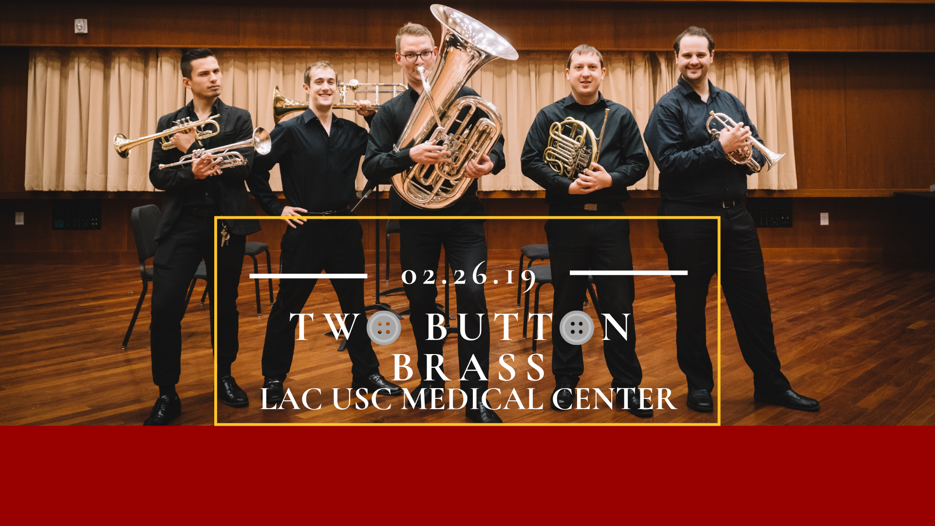 TBB @ USC+LAC Medical Center - Tuesday, February 26, 2019