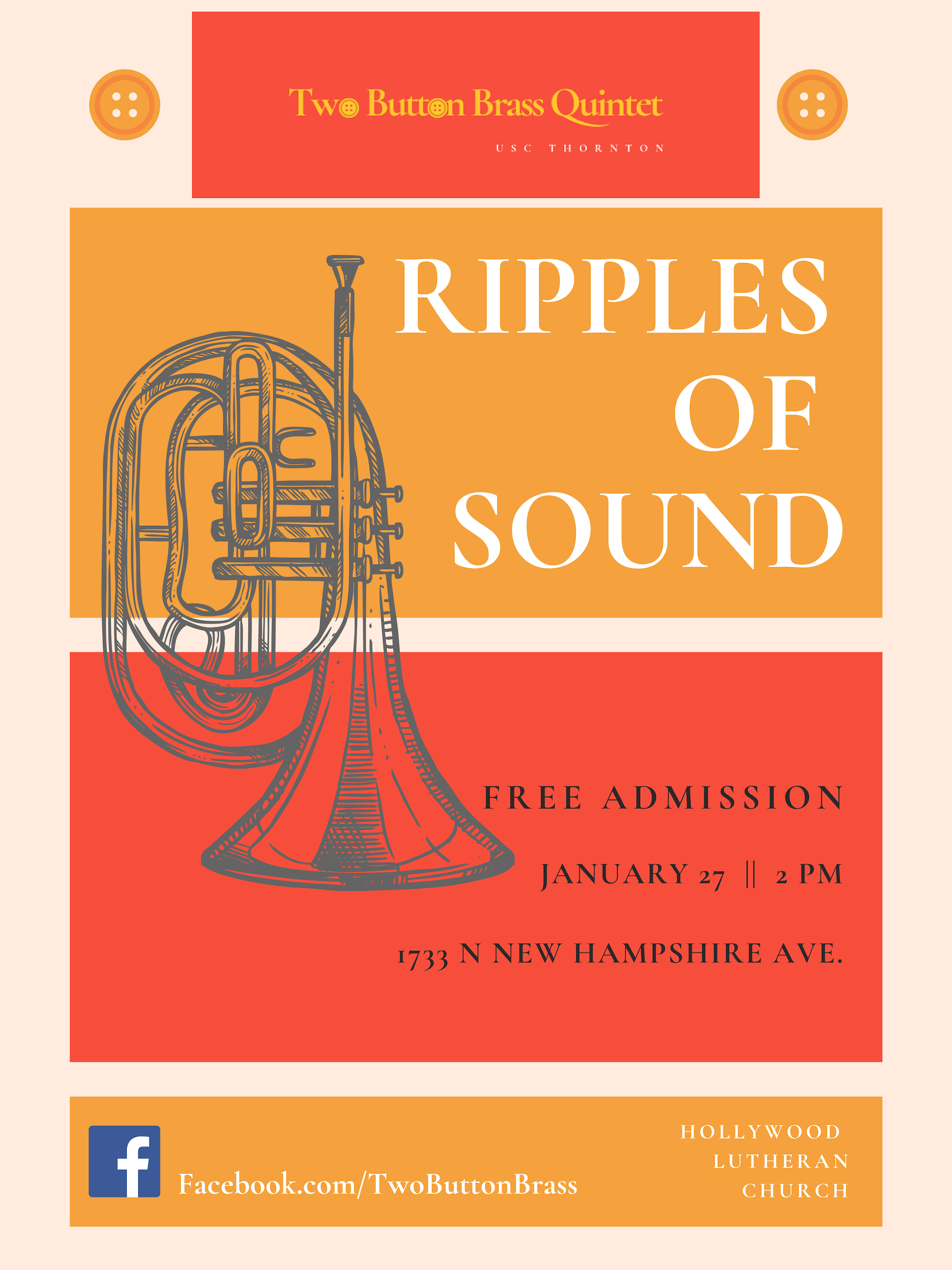 Ripples of Sound Recital - Sunday, January 27, 2019