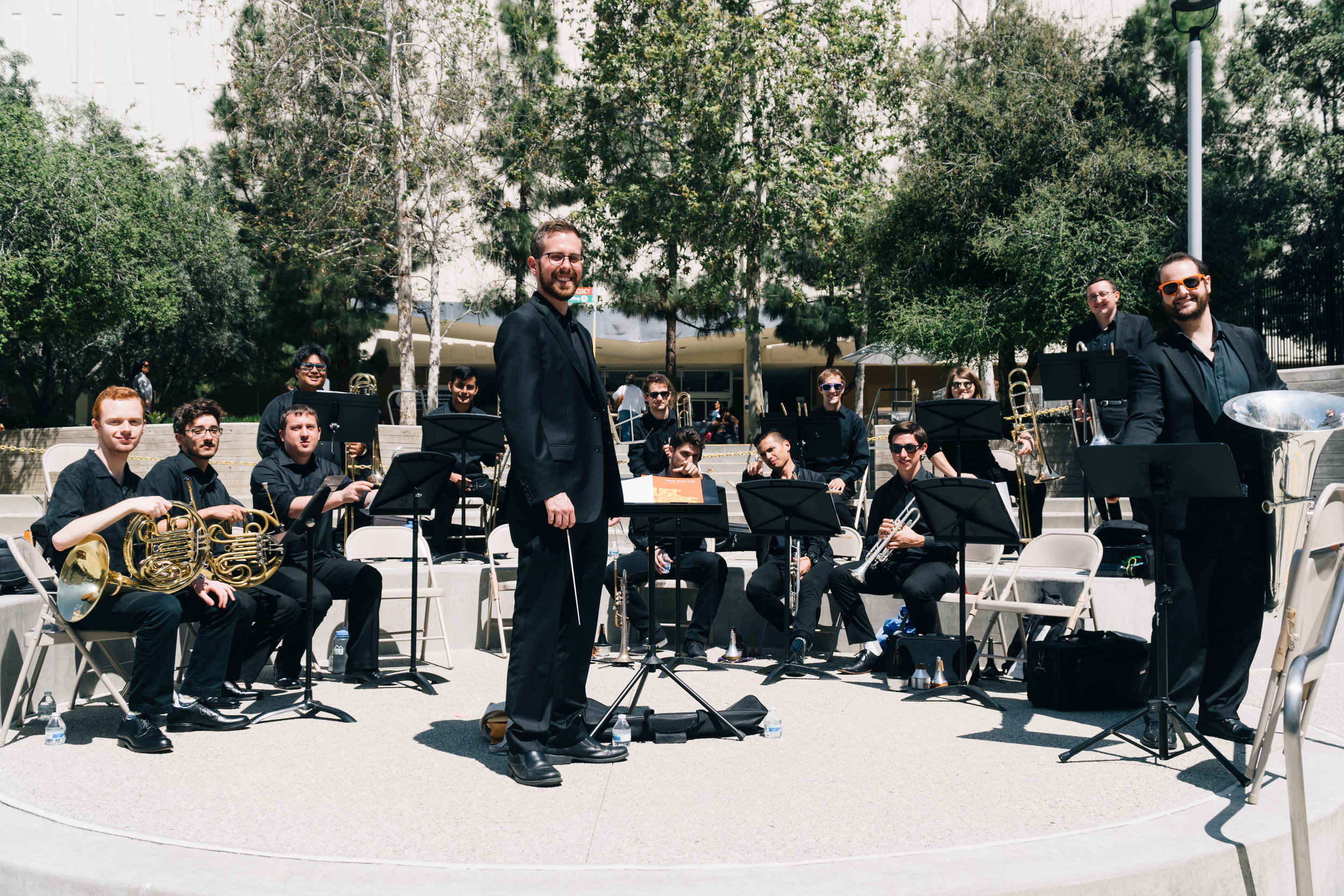 Trojan Brass @ USC+LAC Medical Center - Thursday, March 28, 2019