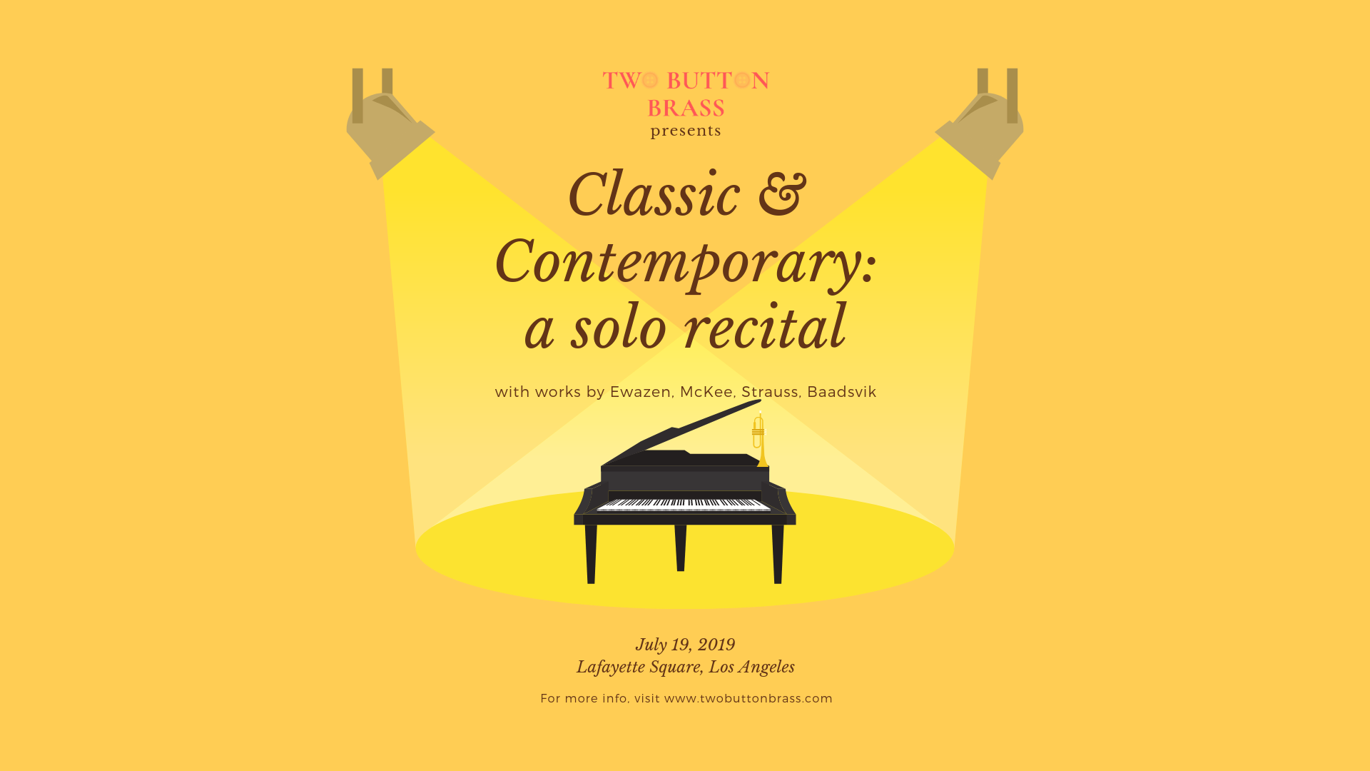 Classic & Contemporary:A Solo Recital - Friday, July 19, 2019