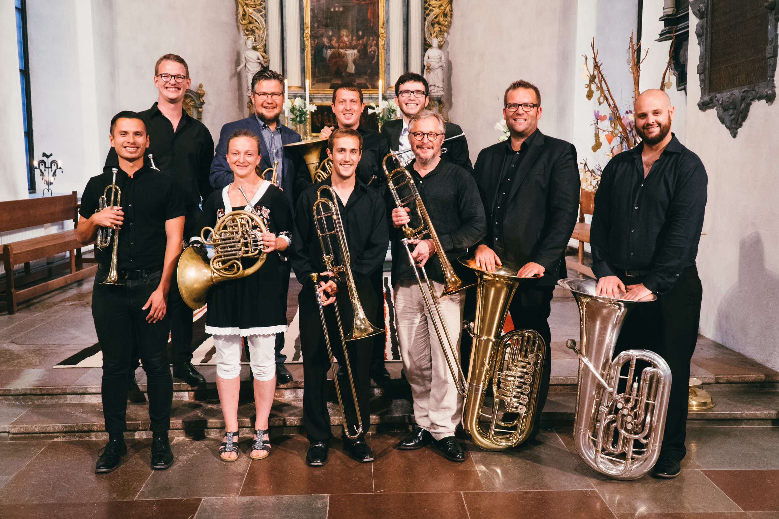 TBB @ Stockholm Chamber Brass Academy - July 27 - August 4, 2019