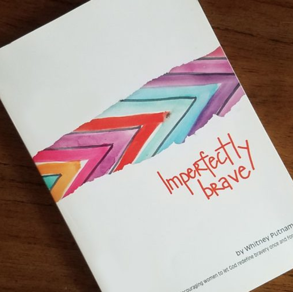 Imperfectly Brave Book - What does imperfectly brave look like for you? God knows, and He wants you to dig in-maybe even get a little dirty-and discover your newly defined life. This journey may take time, but by running to the cross you will detangle the Word from the world, find your life ripe with purpose, and experience renewed passion for serving others.