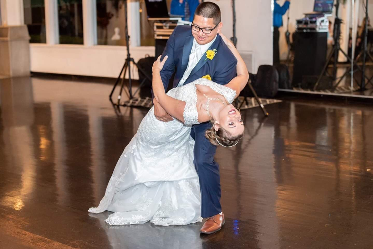 Bride & Groom - Figuring out your dance can truly help you take on your wedding day with confidence and ease! We want to look back on your anniversary years from now and think wow that dance was totally us!