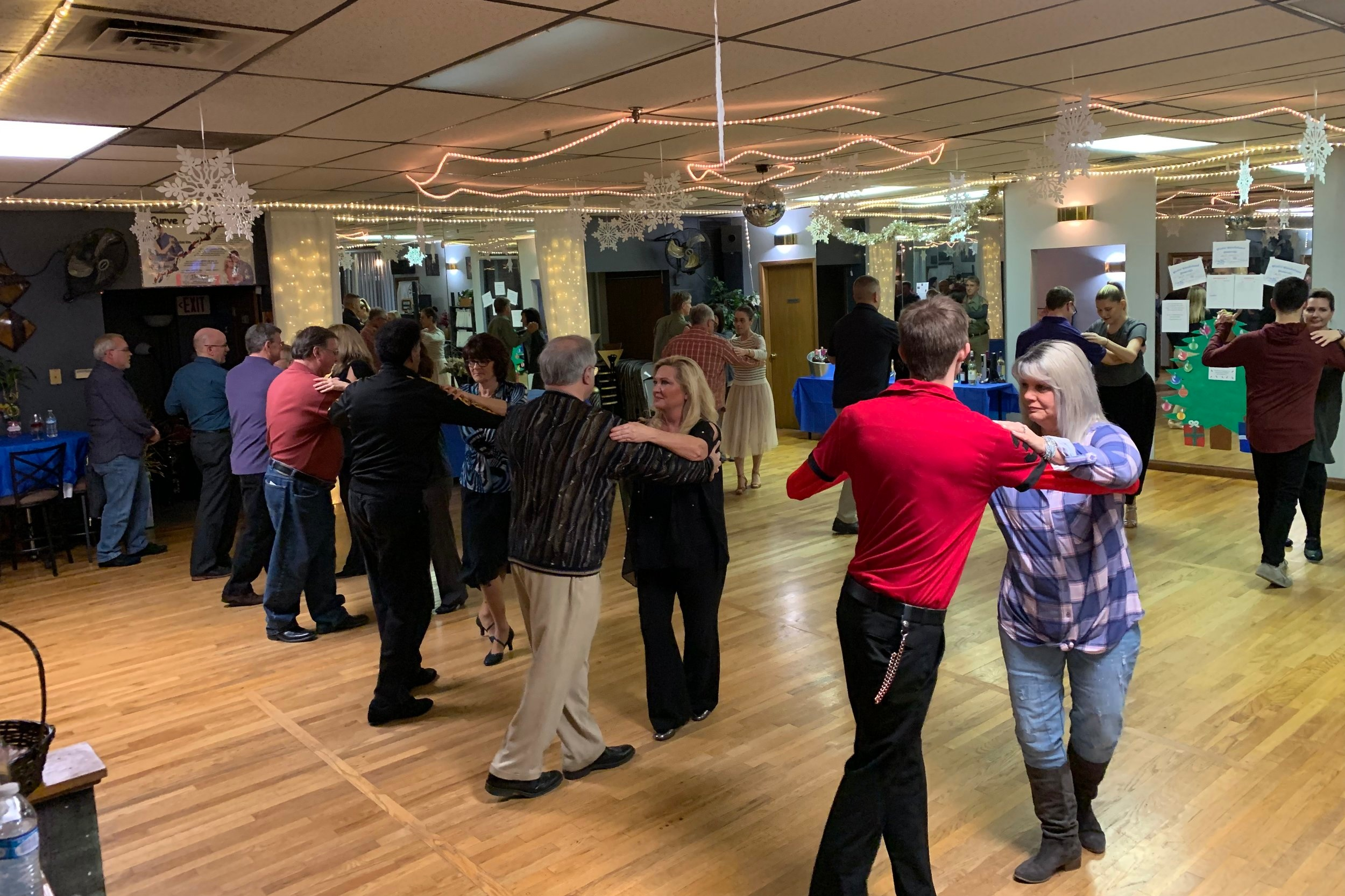 Private Group Class for your family/guests - Host a private group class for your family and friends to learn basic couples dancing or line dancing to rock your reception!